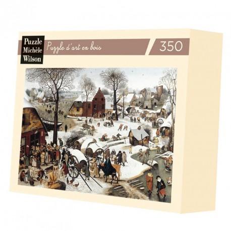 Puzzle pour adultes Le dénombrement de Bethleem - Bruegel