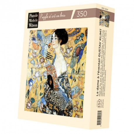 Puzzle for Adults Lady with Fan - Klimt