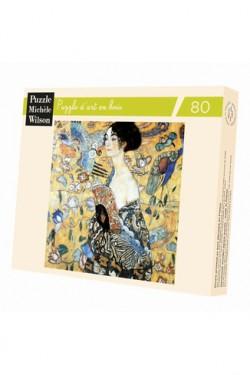 Puzzle pour adultes La Dame à l'éventail - Klimt