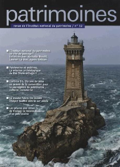 Patrimoines n°12 - Revue de l'Institut national du Patrimoine