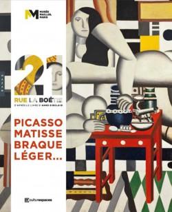 Catalogue 21, rue la Boétie, Picasso, Matisse, Braque, Léger...
