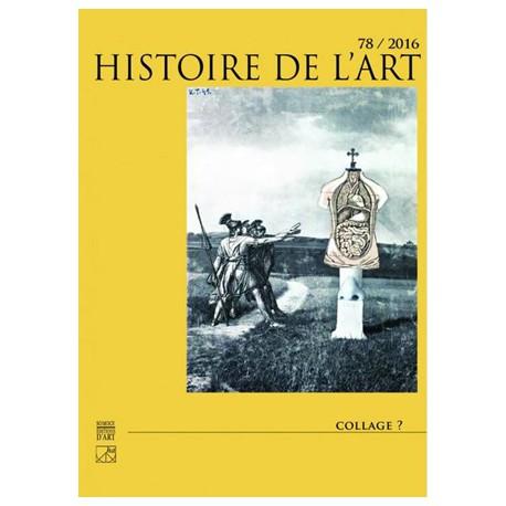 Histoire de l'art N° 78/2016-1. Collage ?