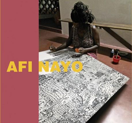 Afi Nayo. Peintures
