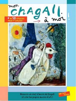 Art pour enfants - Mon Chagall à moi, cahier d'activités