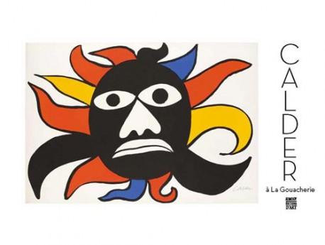 Calder à La gouacherie. Gouaches et estampes