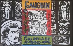Art pour enfants - Gauguin Coloriage