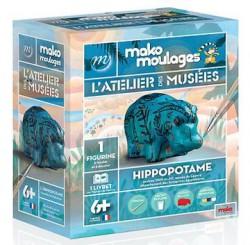 Moulage Hippopotame - L'atelier des musées