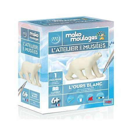 Moulage L'Ours Blanc - L'atelier des musées