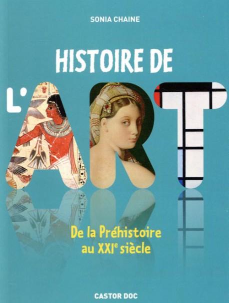 Jeunesse - Histoire de l'art, de la Préhistoire au XXIe siècle