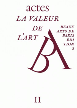 La valeur de l'art