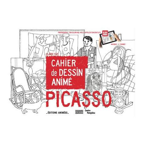 Cahier de dessin animé Picasso