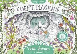 Petit théâtre à colorier. Forêt magique