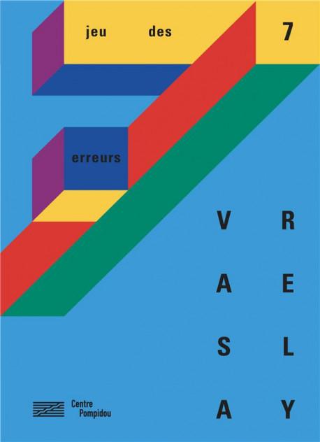 Jeu des 7 erreurs d'après Vasarely