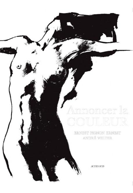 Annoncer la couleur - André Velter, Ernest Pignon-Ernest