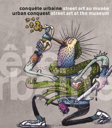 Conquête urbaine. Street art au musée