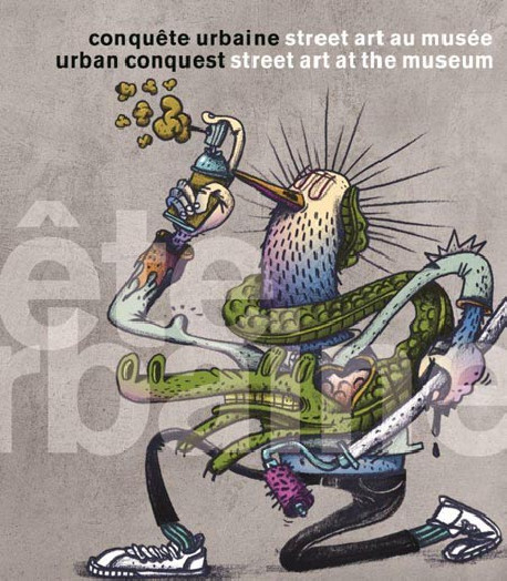 Urban Conquest. Street art at the Museum