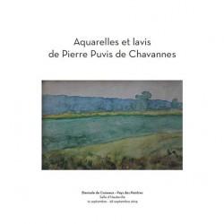 Aquarelles et lavis de Pierre Puvis de Chavannes