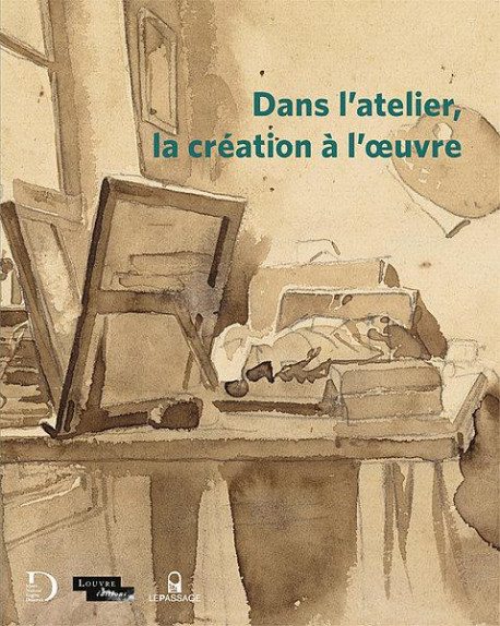 Dans l'atelier, la création à l'oeuvre