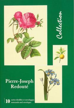 Pierre-Joseph Redouté - Pochette de cartes doubles