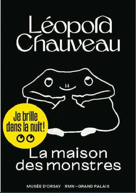 Album Jeunesse - La maison des monstres de Léopold Chauveau