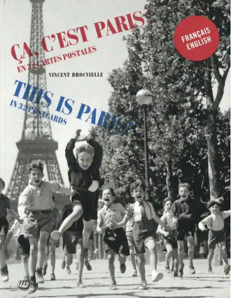 Postacards Booklet - This is Paris !