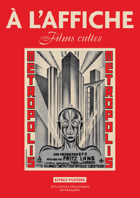 A l'affiche : Films cultes, livres posters