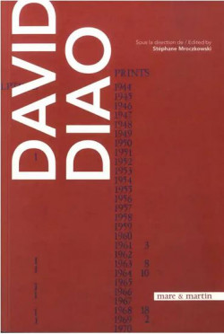 David Diao - Monographie