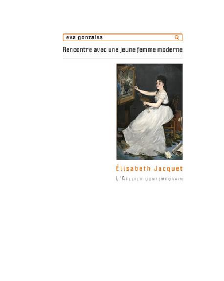 Eva Gonzalès - Rencontre avec une jeune femme moderne