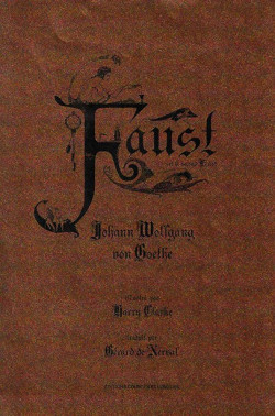 Faust et le second Faust - Illustré par Harry Clarke