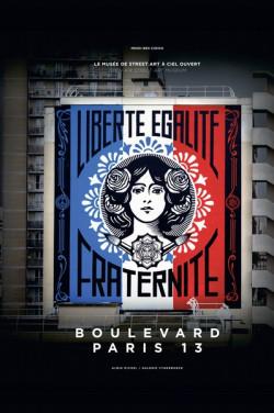 Boulevard Paris 13 - Galerie de Street Art à ciel ouvert