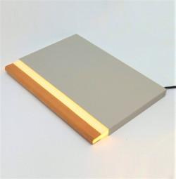 Livre Lumineux Japonais - Night Book Gris