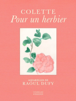 Colette, pour un herbier - Aquarelles de Raoul Dufy