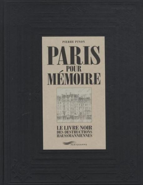 Paris pour mémoire