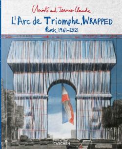 Christo and Jeanne-Claude - L'Arc de Triomphe, Wrapped - Paris,1961-2021