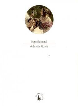 Pages du journal de la reine Victoria