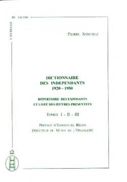 Dictionnaire des Indépendants (1920-1950)