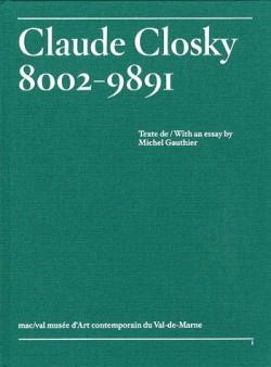 Claude Closky 8002-9891