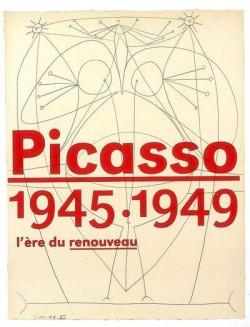 Picasso 1945-1949, l'ère du renouveau