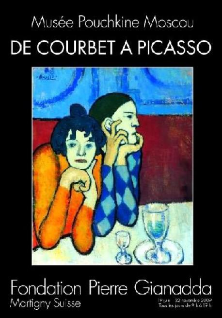 De Courbet à Picasso, musée Pouchkine Moscou