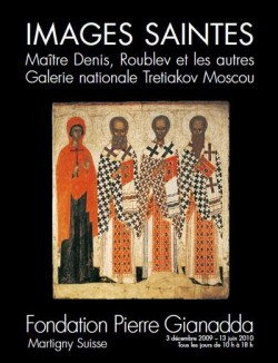 Images saintes - Maître Denis, Roublev et les autres