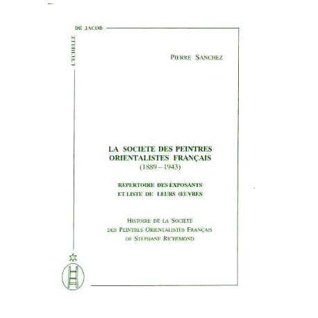La société des peintres orientalistes français
