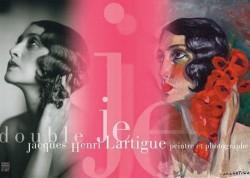 """""""Double Je"""", Jacques-Henri Lartigue, peintre et photographe"""