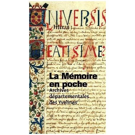 La Mémoire en poche, archives départementales