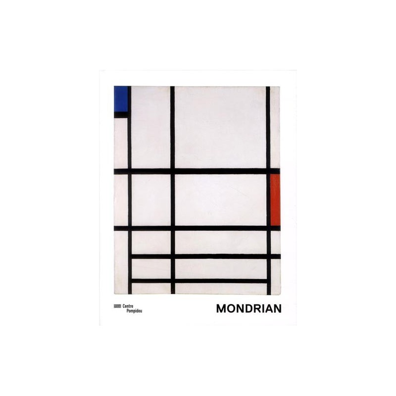 catalogue d 39 exposition mondrian centre pompidou. Black Bedroom Furniture Sets. Home Design Ideas