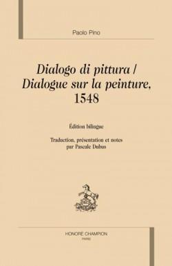 Dialogue sur la peinture, 1548 - dialogo di pittura