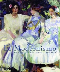Catalogue d'exposition El modernismo, de Sorolla à Picasso, 1880-1918