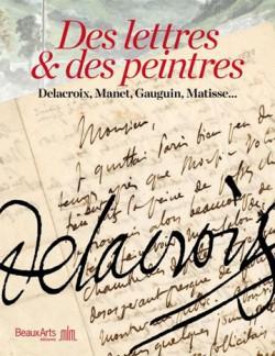 Catalogue d'exposition Des lettres et des peintres
