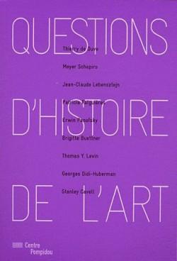 Questions d'histoire de l'art, Centre Pompidou