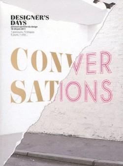 Designer's days 2011, conversations, parcours parisien du design 16-20 juin 2011