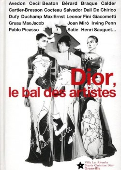 Catalogue d'exposition Dior, le bal des artistes